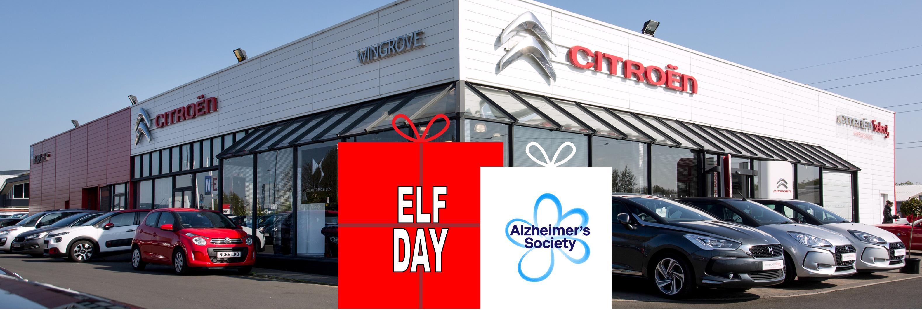 Alzheimer's Society Elf Day