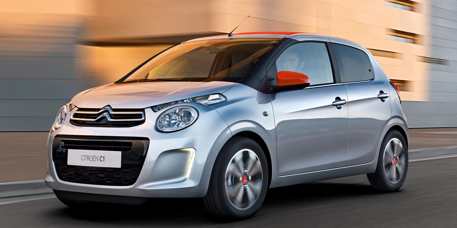 New Citroen C1 from only £159 per Month