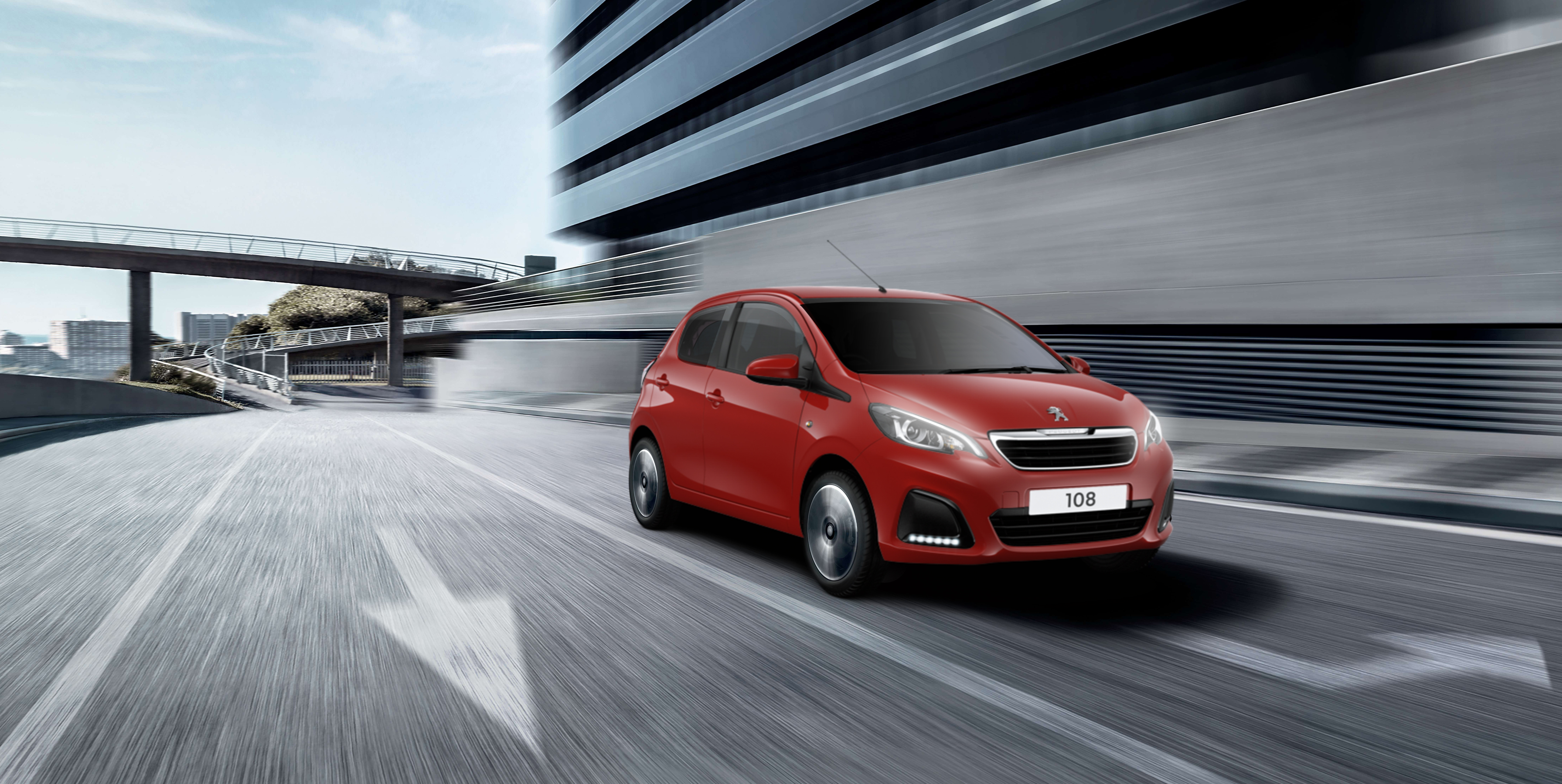 New Peugeot 108 only £129 per Month