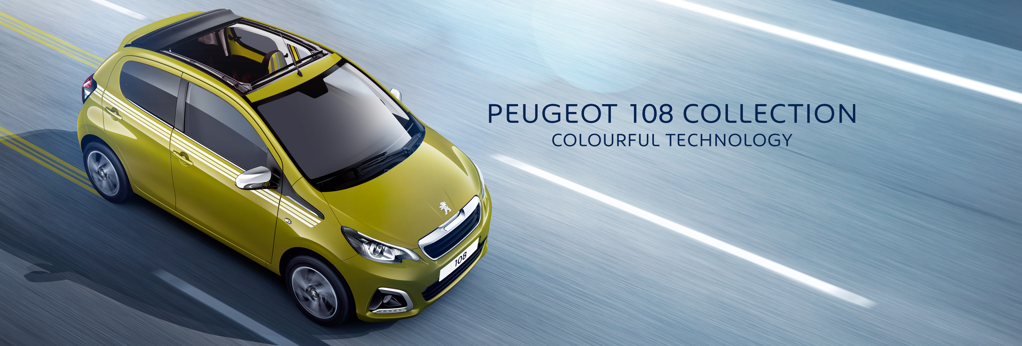 New Peugeot 108 only £119 per Month