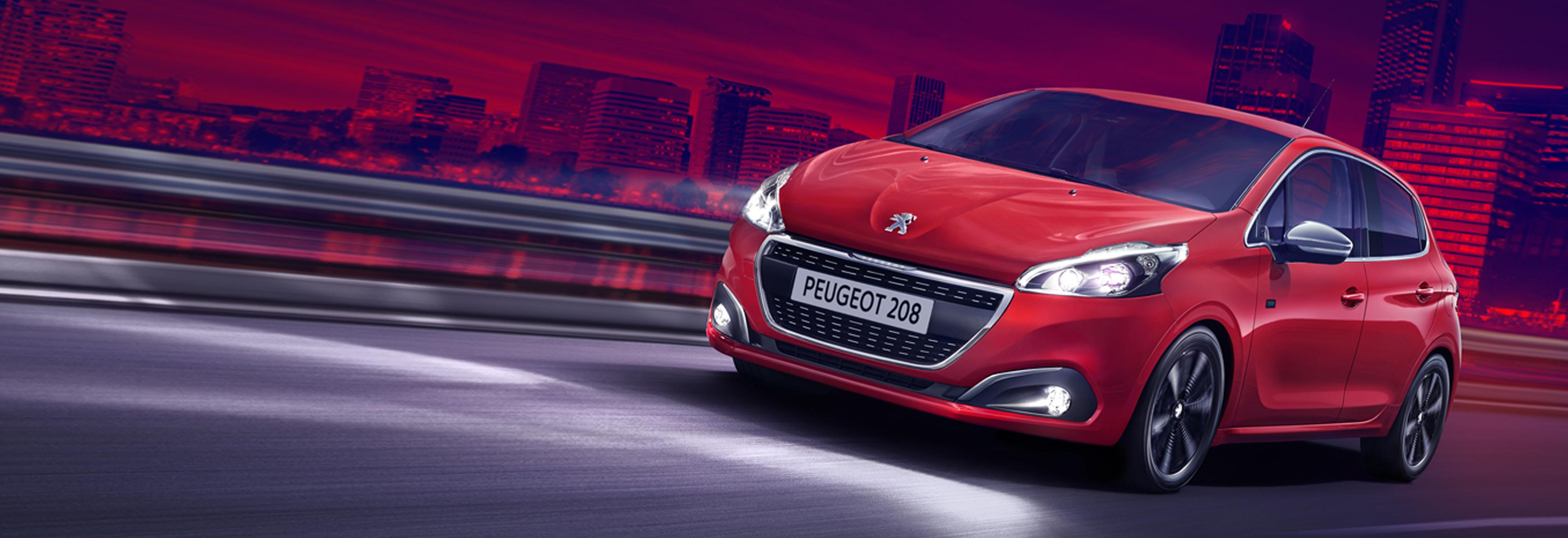New Peugeot 208 for £179 per Month