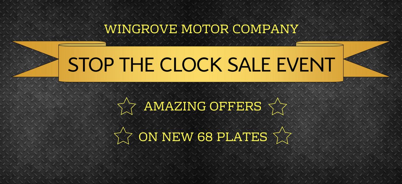 Stop the Clock Sale Event