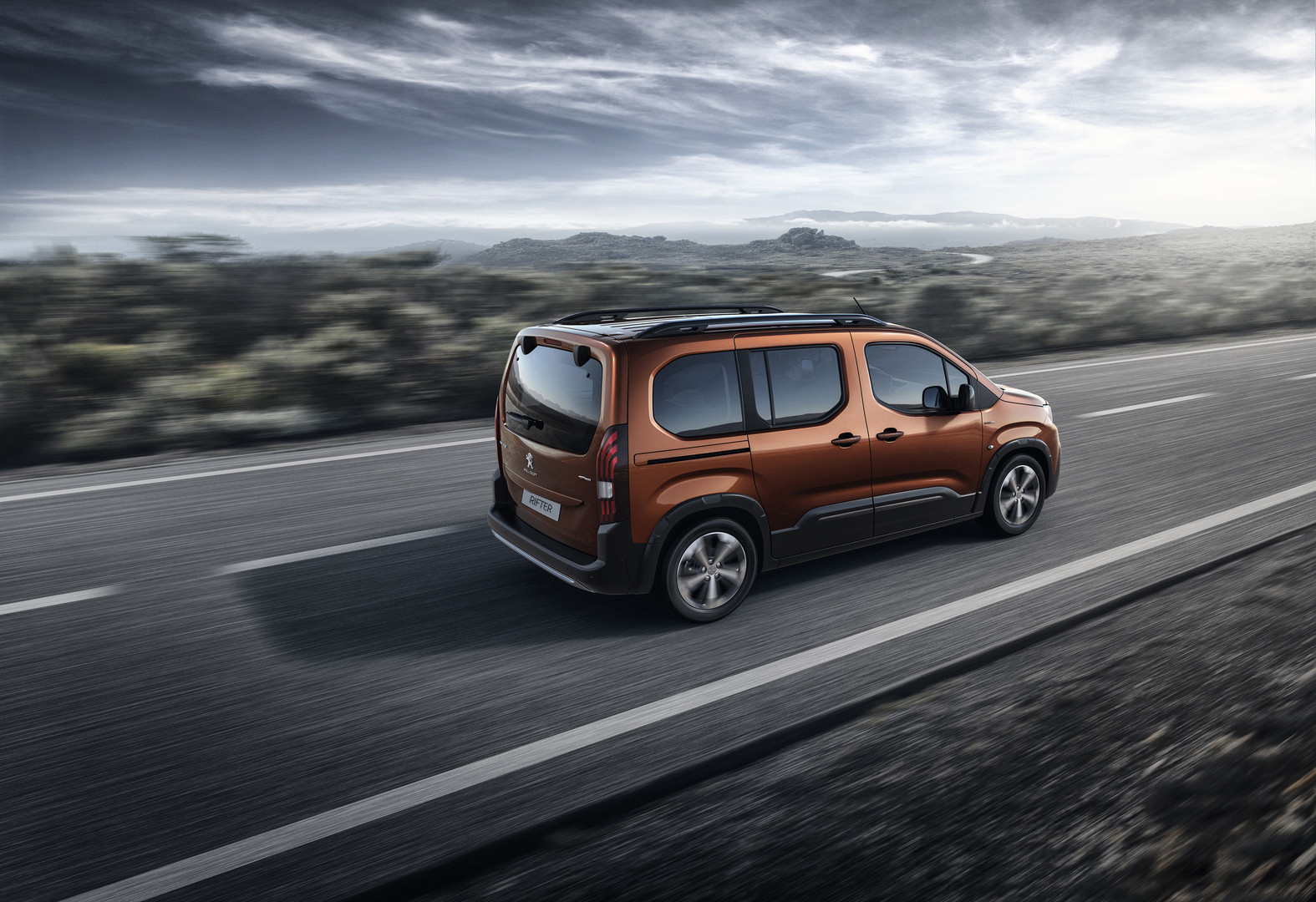 All-New Peugeot Rifter for £289 per Month