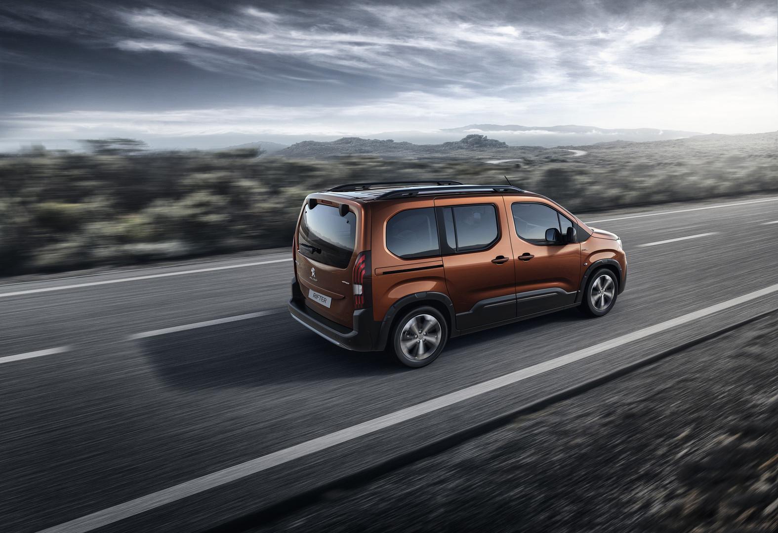 Peugeot Rifter for £269 per Month