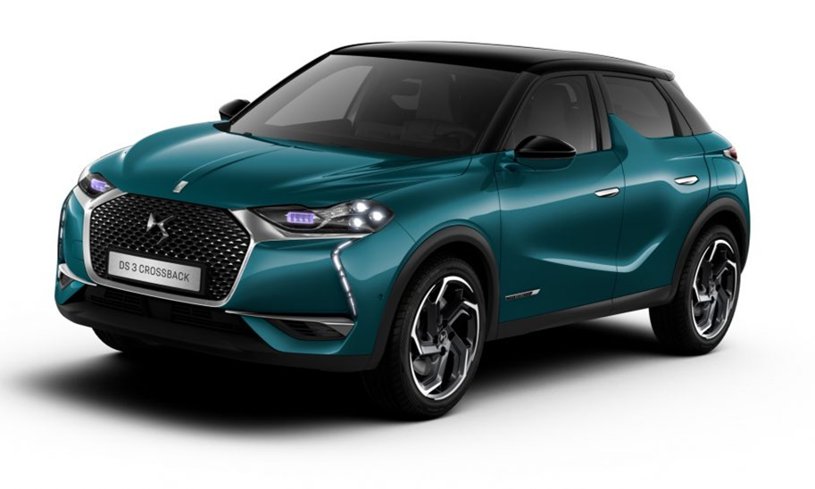DS 3 CROSSBACK P/T100 Performance Line Manual