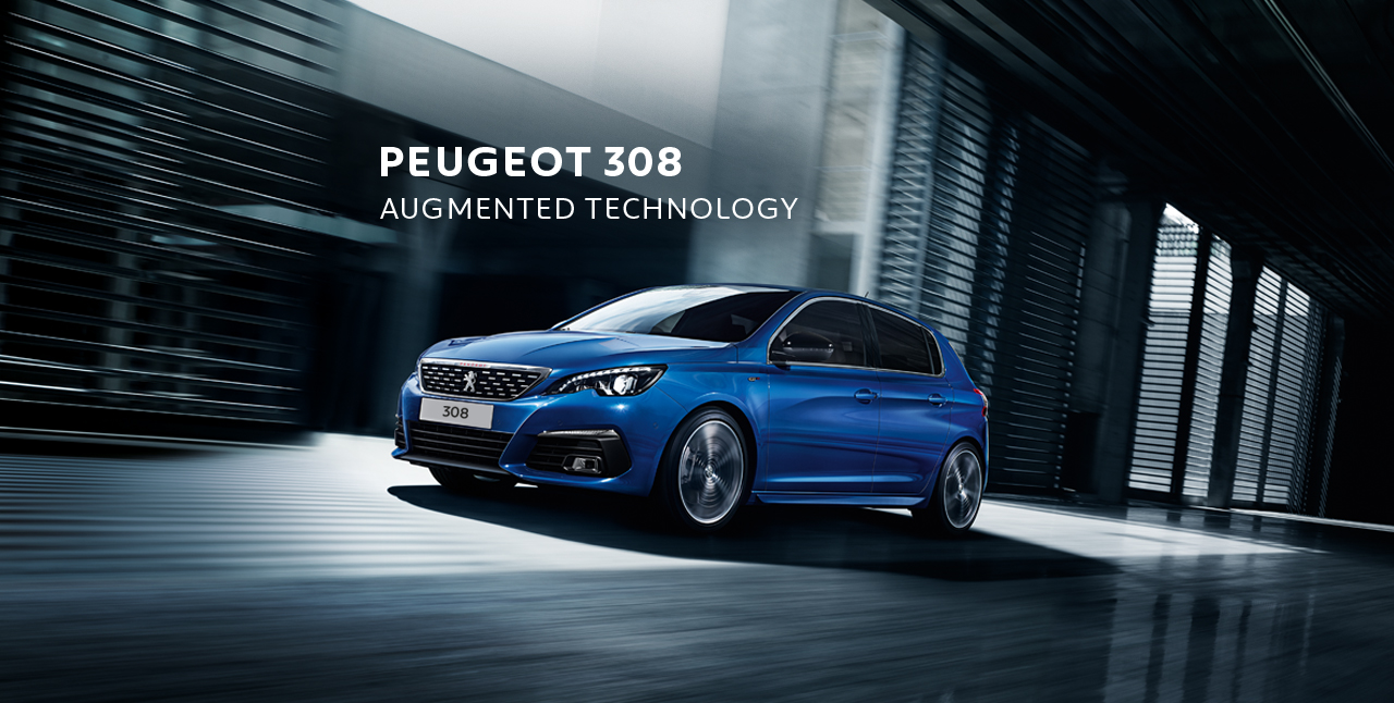 Peugeot 308 for £279 per Month